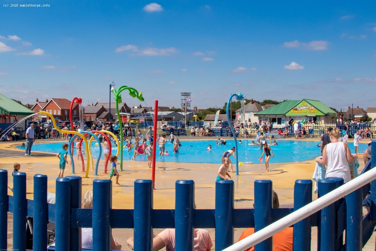 Queens Park Mablethorpe Lincolnshire